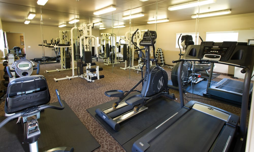Fashion Terrace has a fully equipped fitness center
