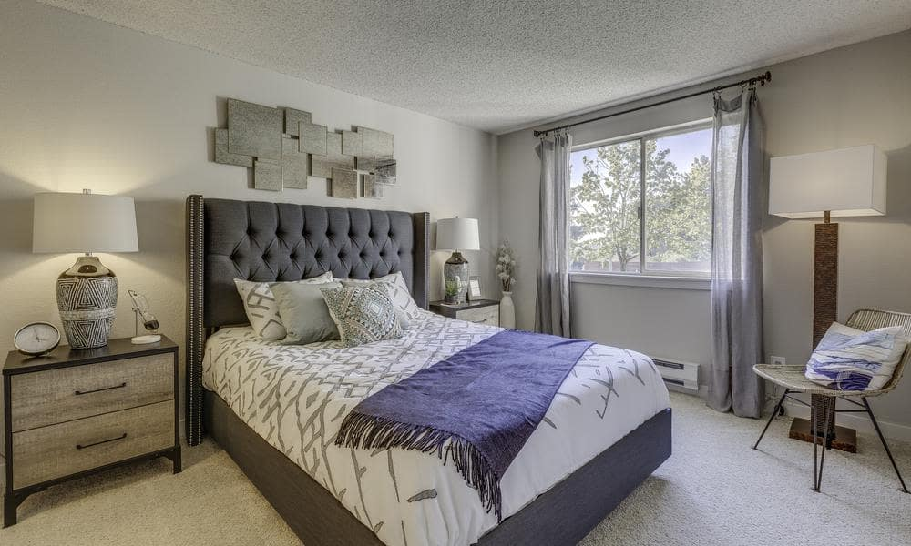 bedroom at Alaire Apartments in Renton