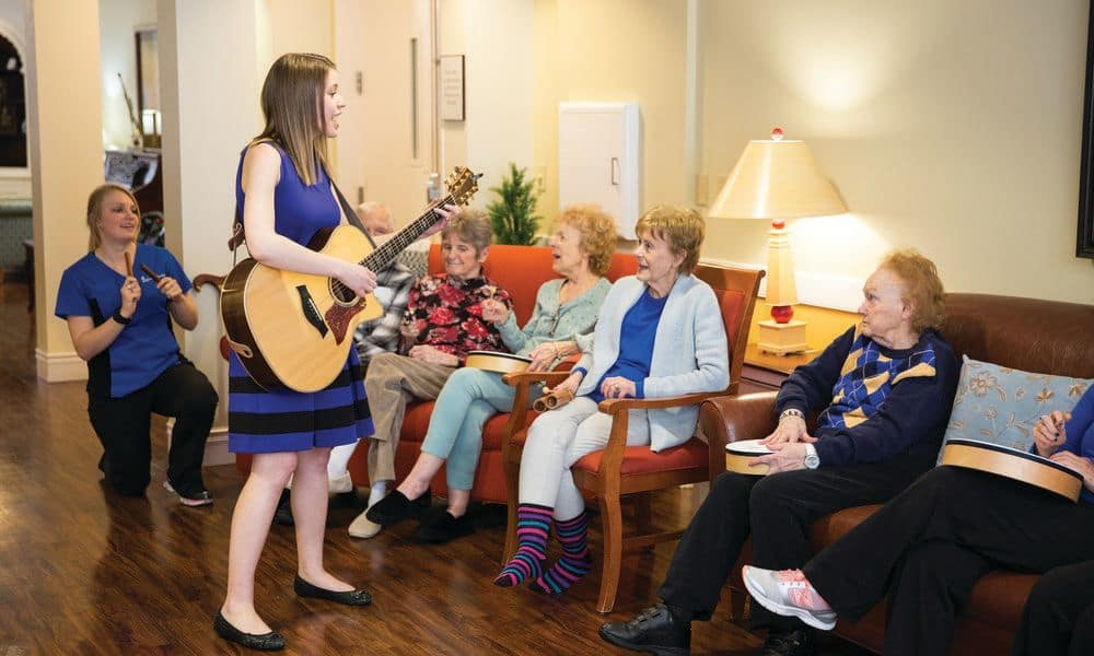 Music activities at The Enclave at Anthem Senior Living
