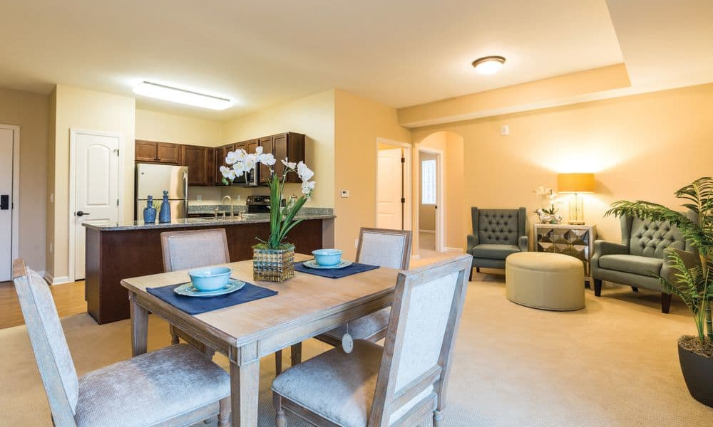 Beautiful and spacious living places at The Enclave at Anthem Senior Living