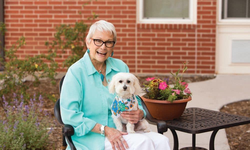 Pet friendly at The Enclave at Anthem Senior Living