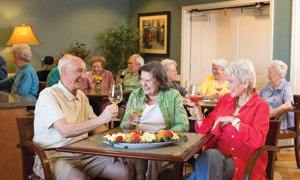 Community sharing at The Enclave at Anthem Senior Living