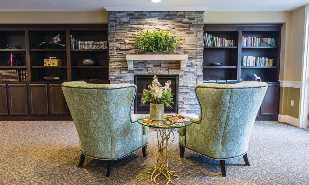 Availability for reading at The Enclave at Anthem Senior Living