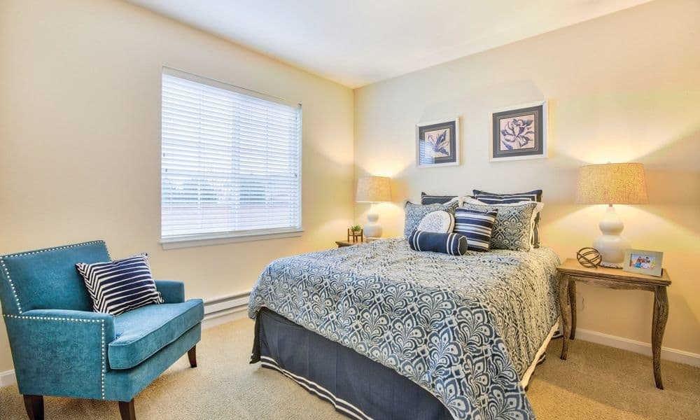 Beautiful and spacious bedrooms at The Enclave at Anthem Senior Living