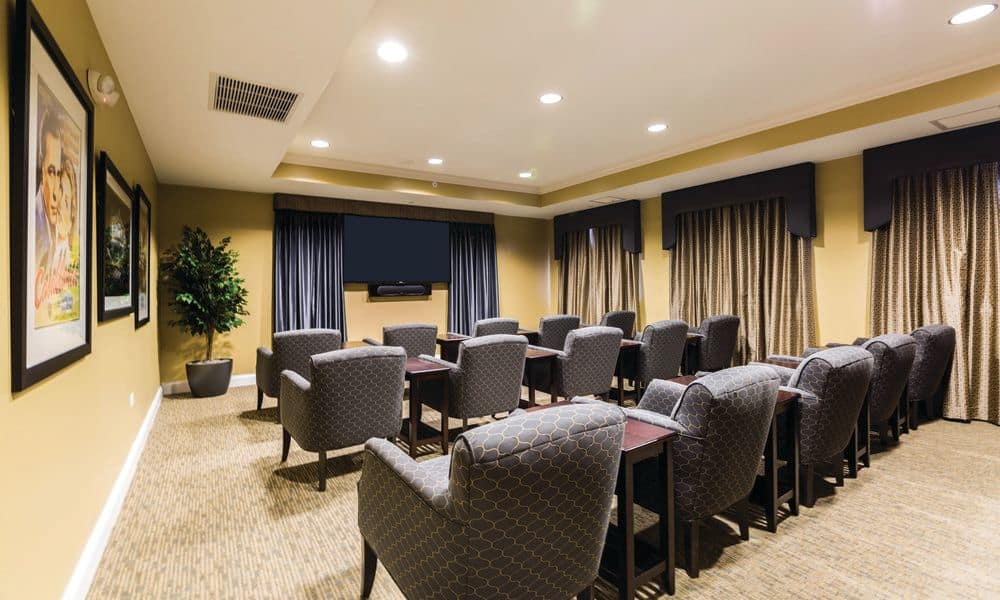 Spacious conference room at The Enclave at Anthem Senior Living