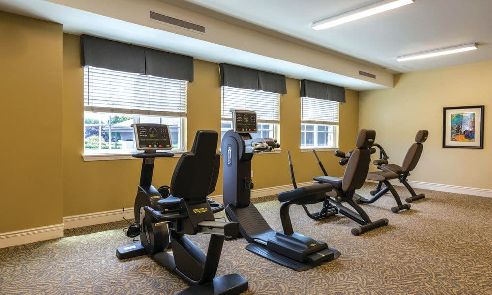 Exercise facilities for everyone at The Enclave at Anthem Senior Living
