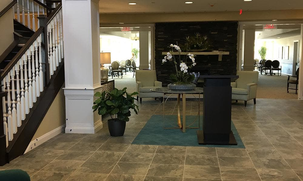 Inside facilities at The Enclave at Anthem Senior Living