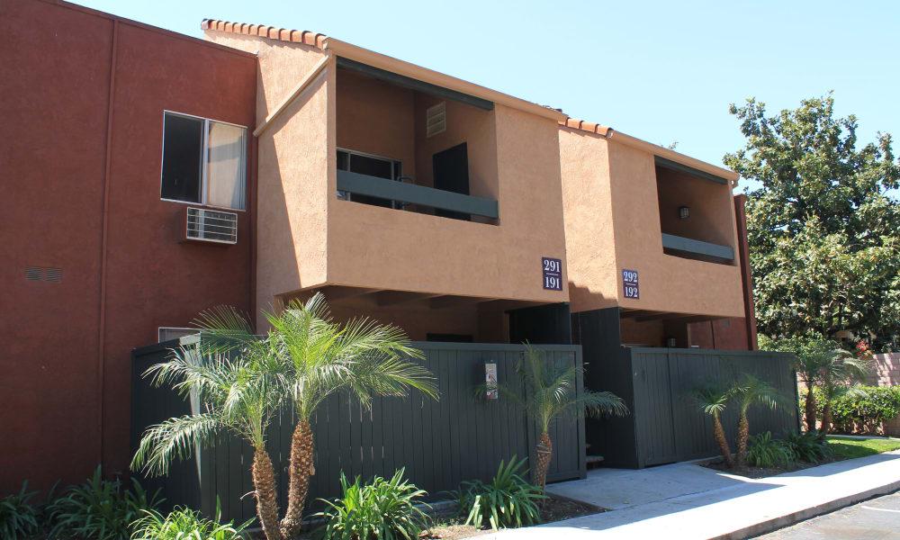 Our apartments in West Covina, California showcase a spacious walking paths