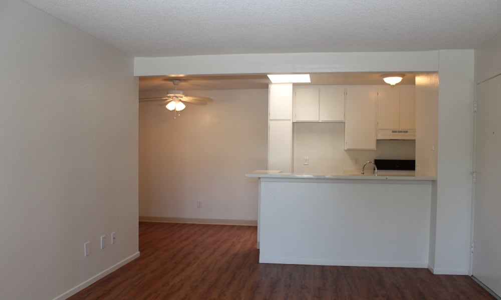 Kitchen at Brookhollow Apartments in West Covina, California
