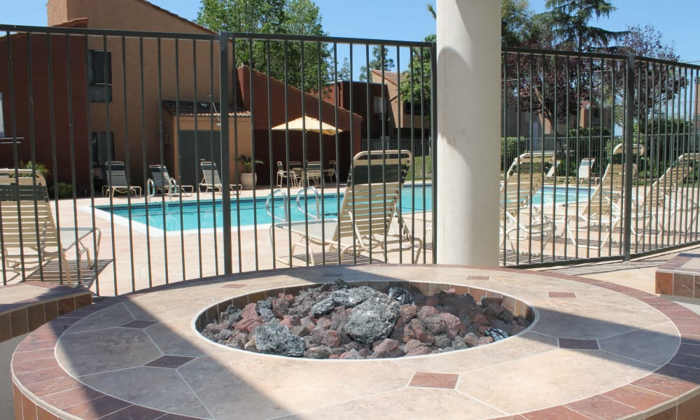 Our apartments in West Covina, California have a swimming pool that's great for entertaining