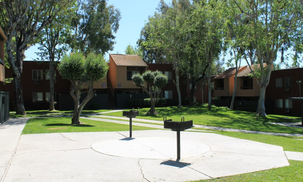 Spacious parking area at Brookhollow Apartments in West Covina, California