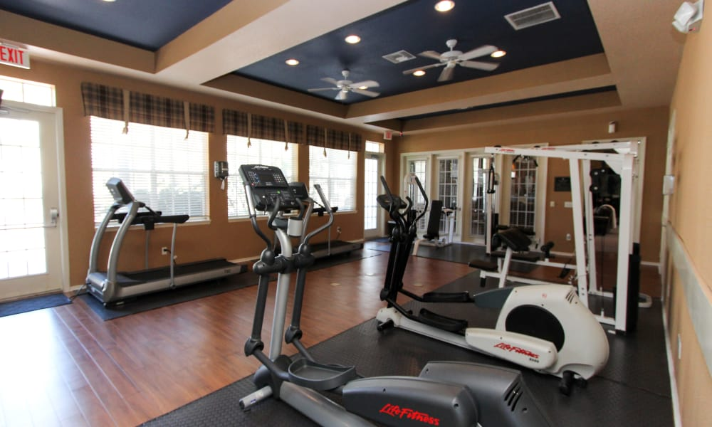 Exercise at Palms at Wyndtree's fitness center