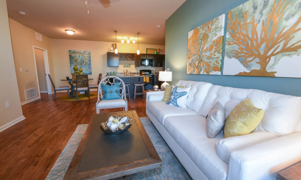 Open floor plans at Springs at Port Charlotte in Port Charlotte