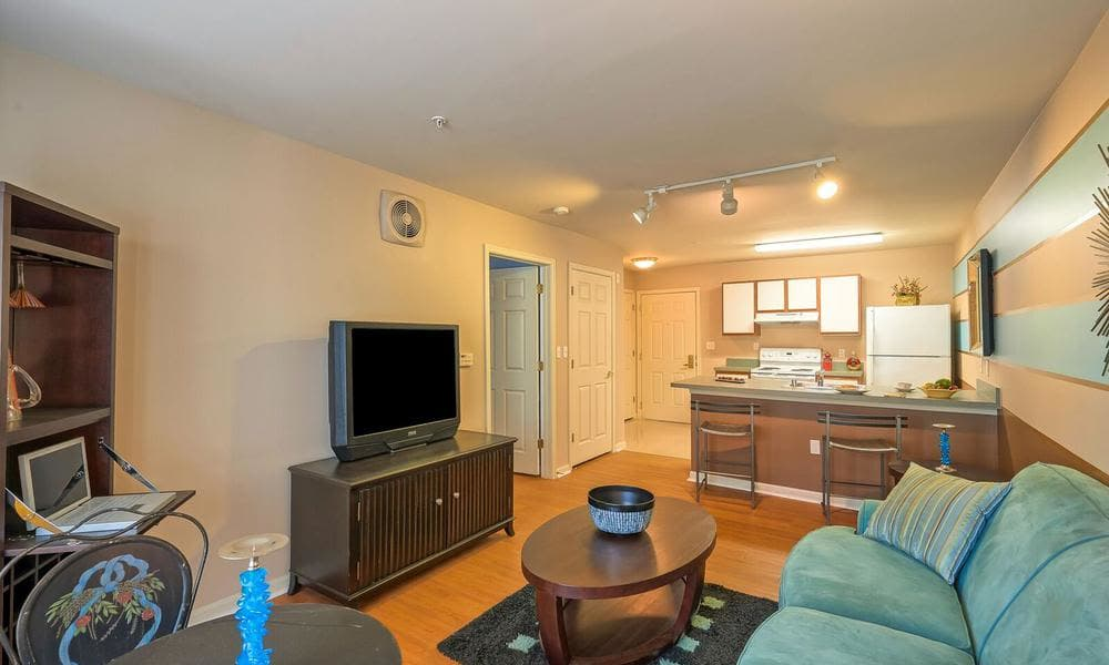 TV Room at apartments in Washington, District of Columbia