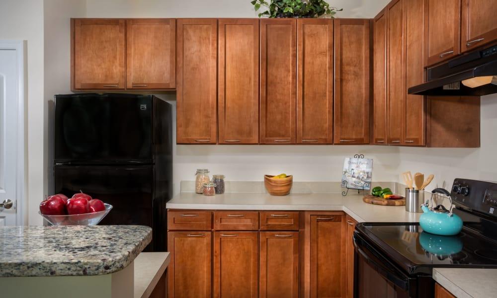 Kitchen at Monarch Mills