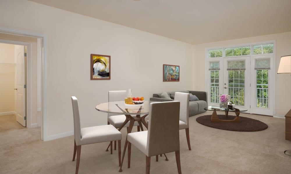Monarch Mills dining room