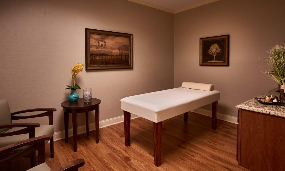 massage room at Waltonwood Cotswold
