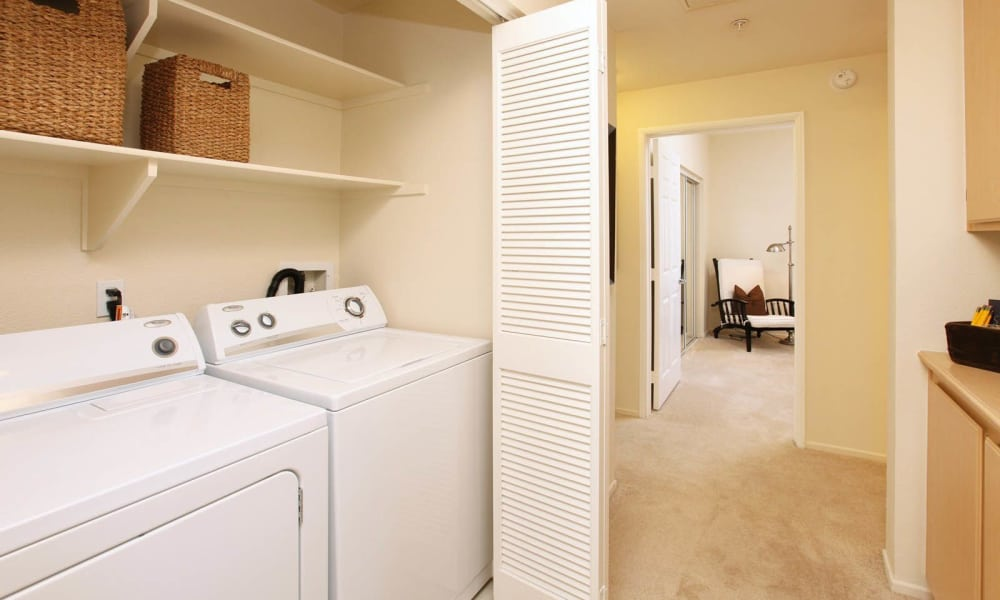 Washer and dryer in select apartments in Mission Viejo, California