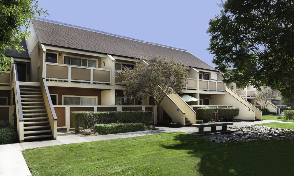 Exterior view at The Timbers Apartments in Hayward, CA