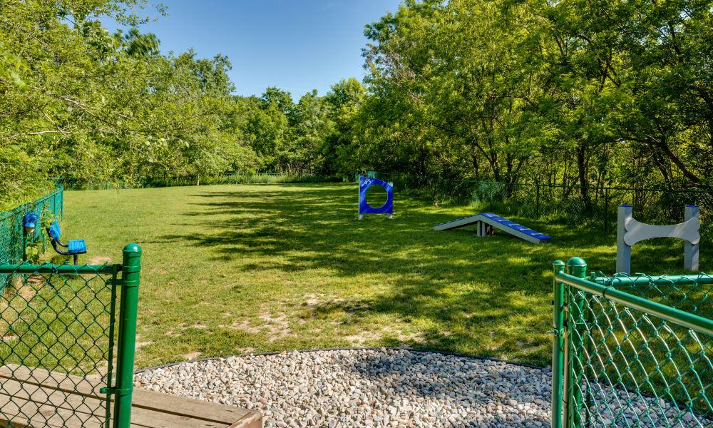 Auburn Gate offers a dog park in Auburn Hills, MI