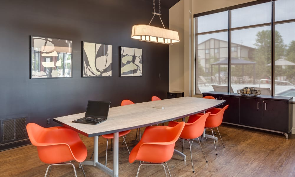 The Trilogy Apartments offers a business meeting room in Belleville, MI