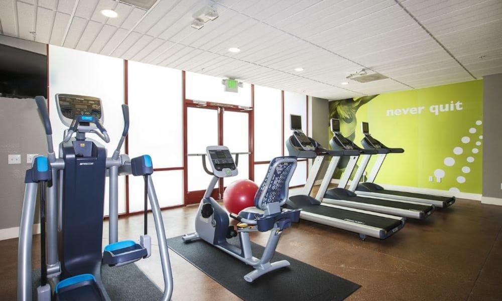 15Fifty5 Apartments treadmills