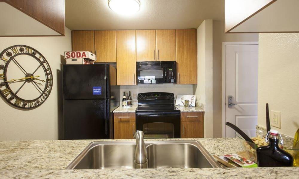 15Fifty5 Apartments kitchen in Walnut Creek