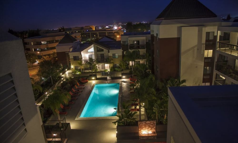 Rooftop photo of 15Fifty5 Apartments in Walnut Creek