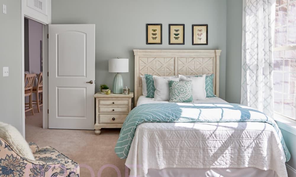 Waltonwood Lake Boone master bedroom