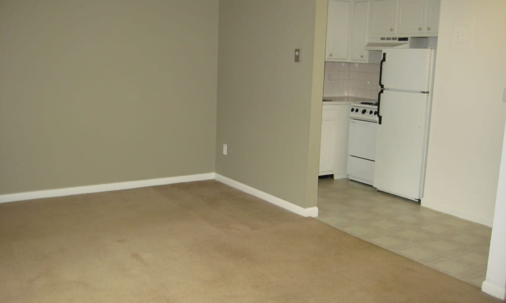 Apartment interior view at Coachlight Village in Agawam, MA
