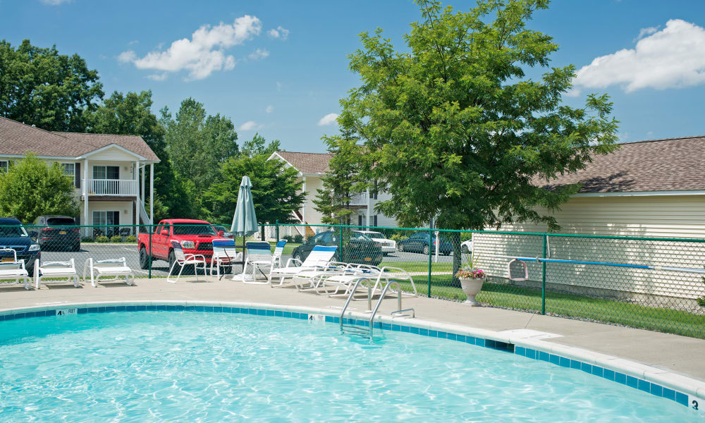 Our apartments in East Greenbush, NY offer a swimming pool