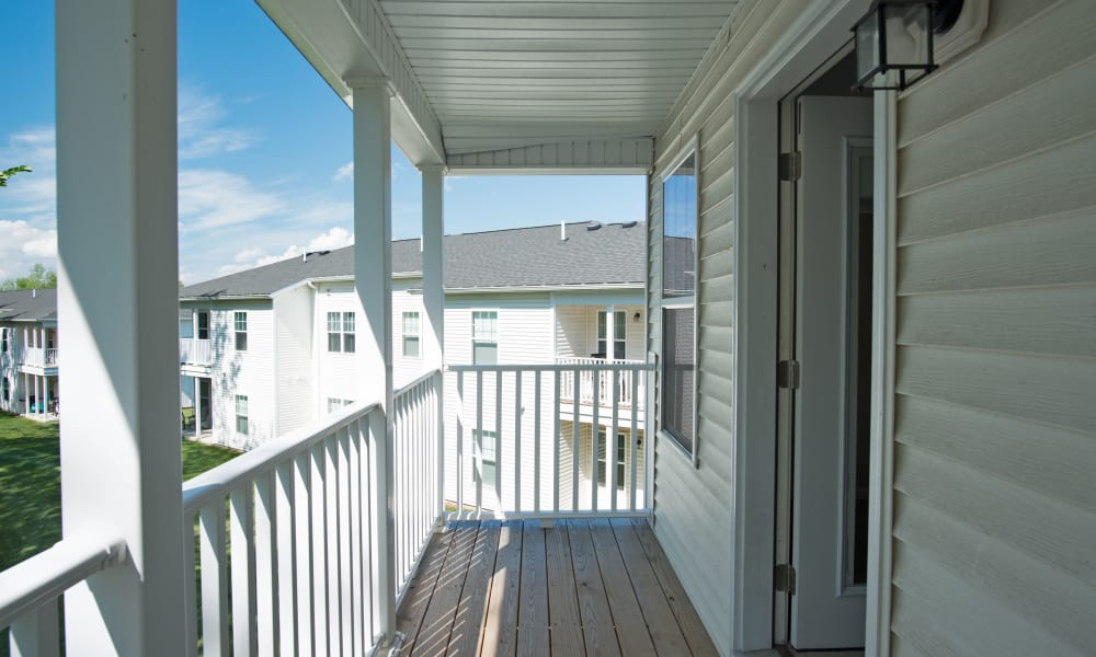 Apartment Balcony at Stonebridge Enclave in Ballston Lake, NY
