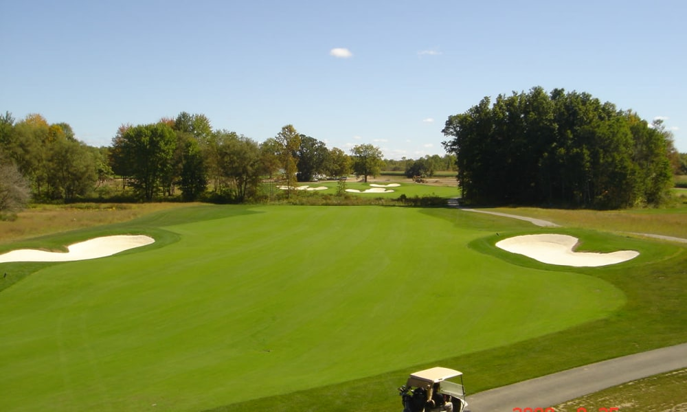 Golf course at The Fairways at Timber Banks in Baldwinsville, NY