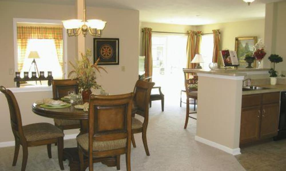 The Fairways at Timber Banks offers a dining room in Baldwinsville, NY