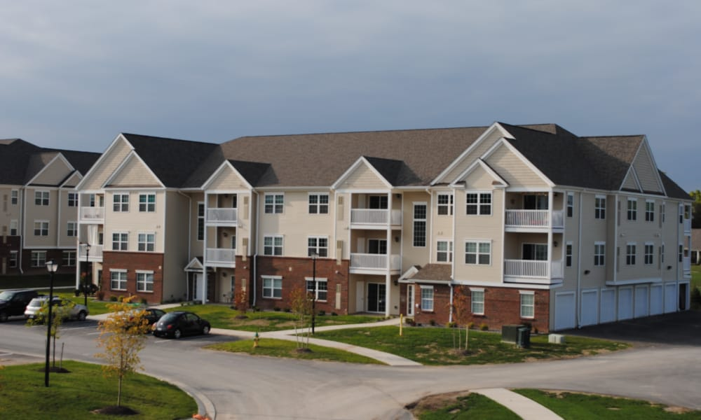 Exterior view of The Fairways at Timber Banks in Baldwinsville, NY