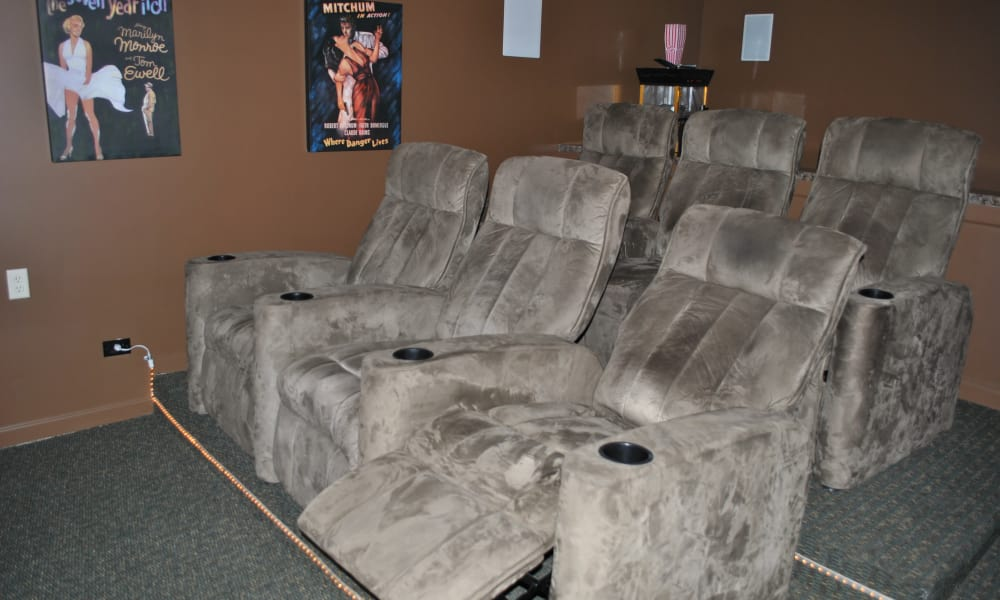 The Fairways at Timber Banks offers a mini cinema in Baldwinsville, NY