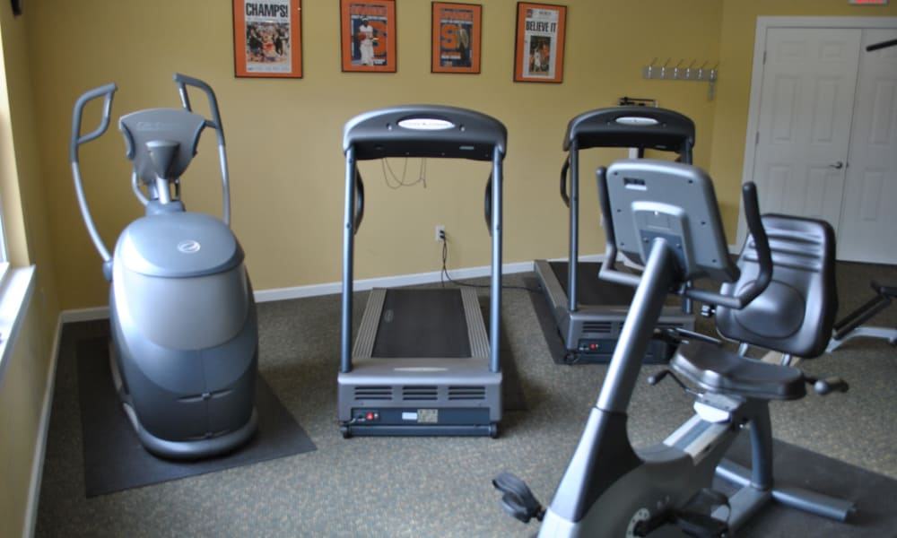 The Fairways at Timber Banks offers a fitness center in Baldwinsville, NY