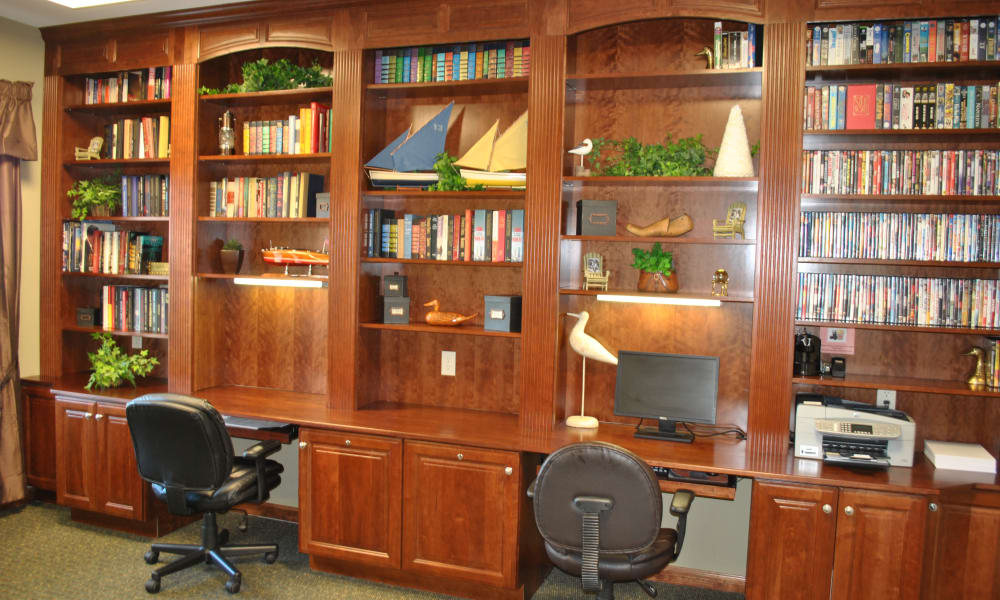 The Fairways at Timber Banks offers a business center in Baldwinsville, NY