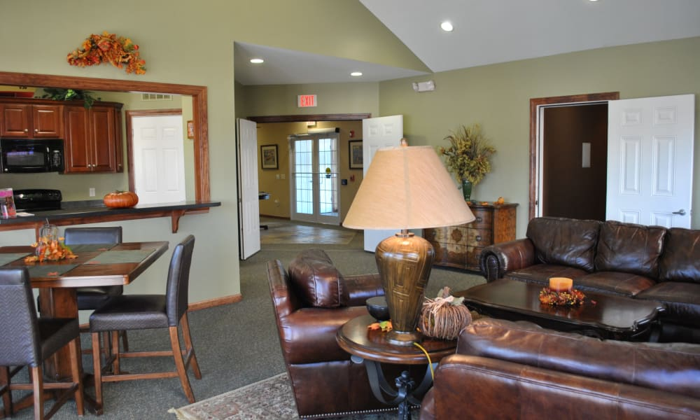 The Fairways at Timber Banks offers a luxury clubhouse in Baldwinsville, NY
