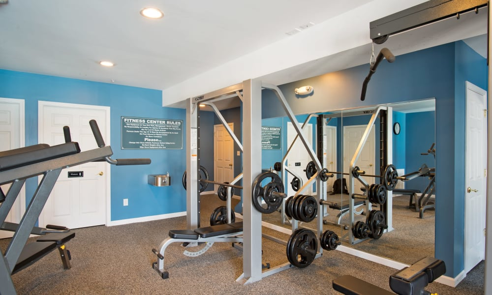 Fitness center at The Reserve at Glenville in Glenville, NY