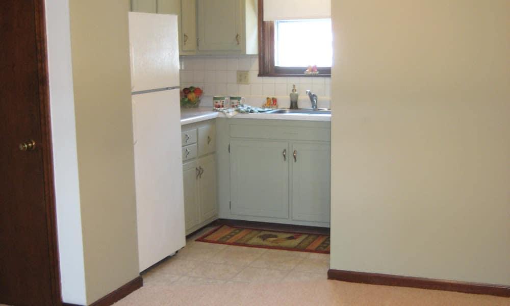 Kitchen at Van Deene Manor in West Springfield, MA