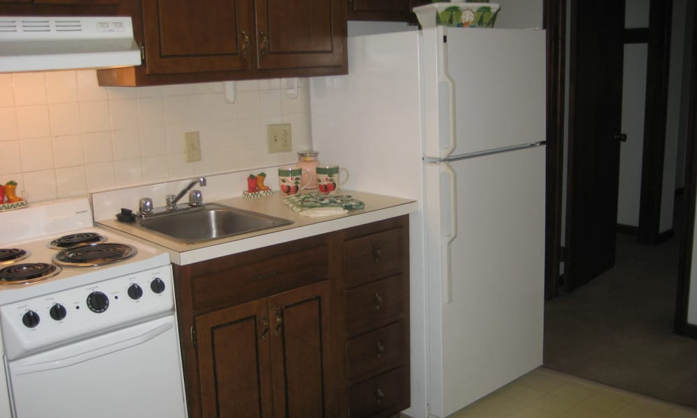 Our apartments in West Springfield, MA offer a well-equipped kitchen