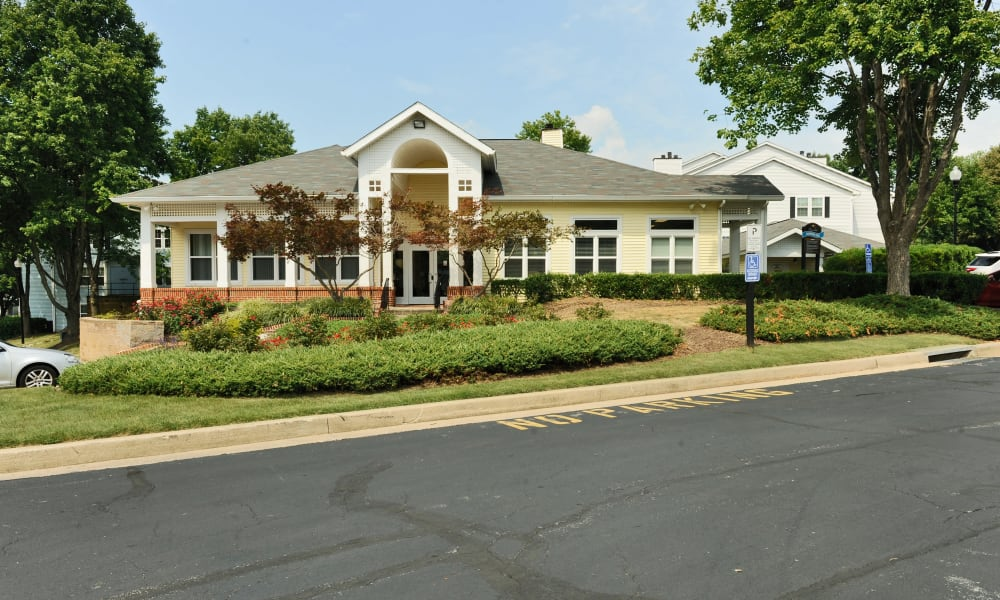 Chase Lea Apartment Homes offers a clubhouse in Owings Mills, MD