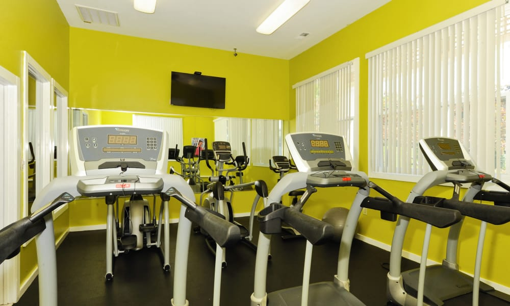 Chase Lea Apartment Homes offers a fitness center in Owings Mills, MD