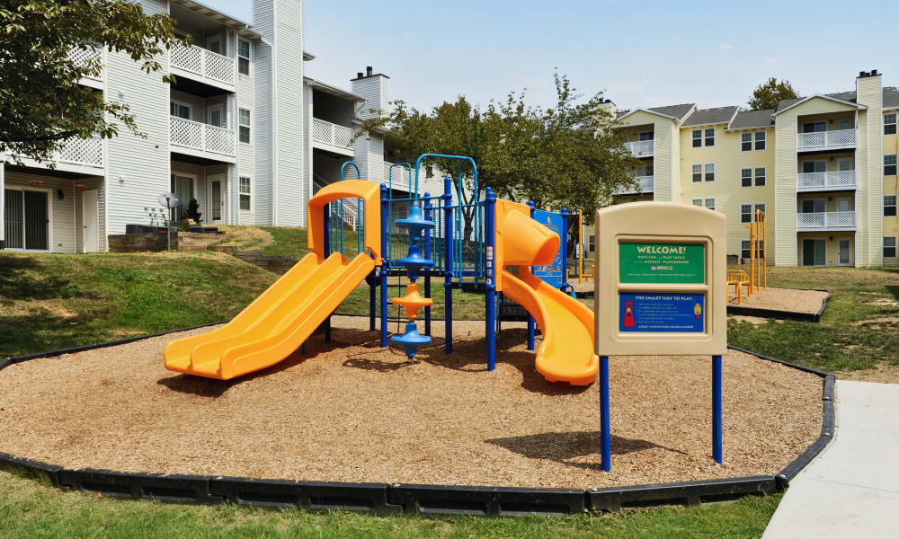 Chase Lea Apartment Homes offers a playground in Owings Mills, MD