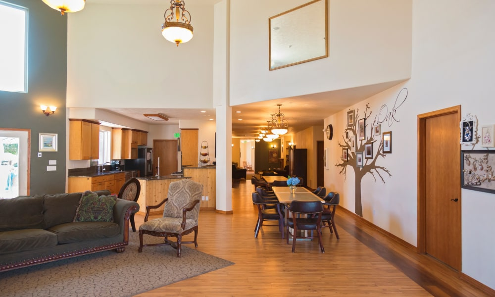 Main hall at Generations Assisted Living