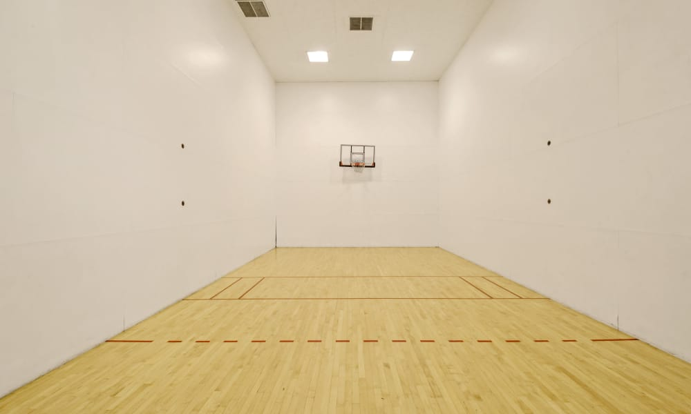 Indoor Basketball court at Waterview Apartment Homes in Memphis