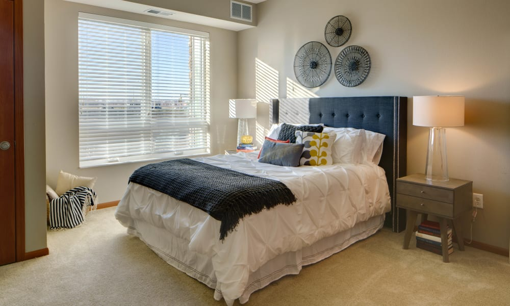 Bedroom at Remington Cove Apartments in Apple Valley