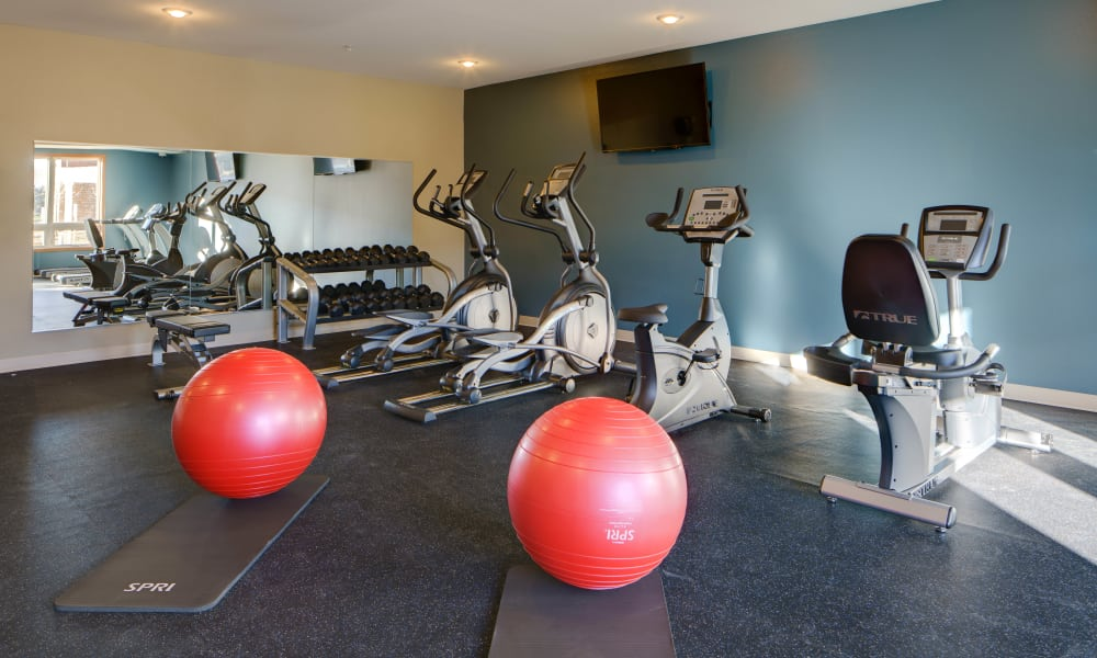 Fitness Center at Remington Cove Apartments in Apple Valley