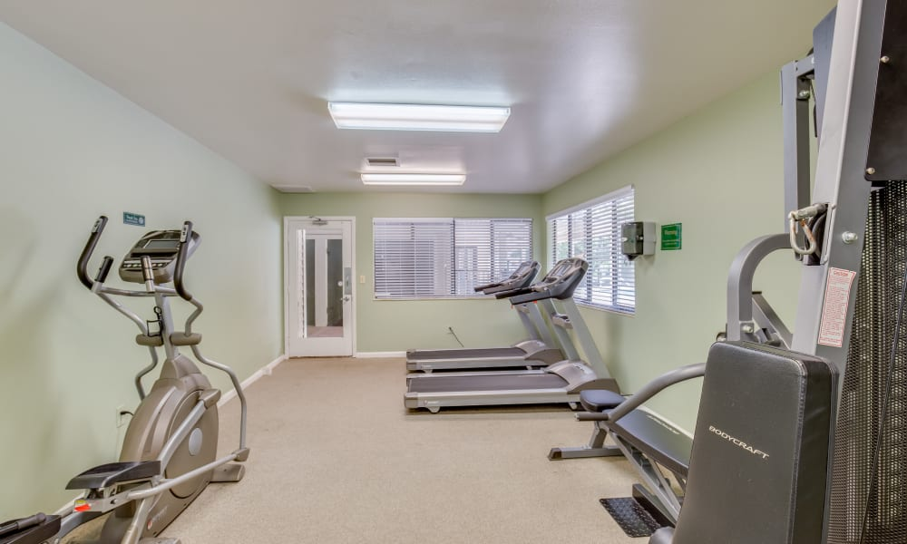 Our apartments in Jacksonville, Florida showcase a modern fitness center